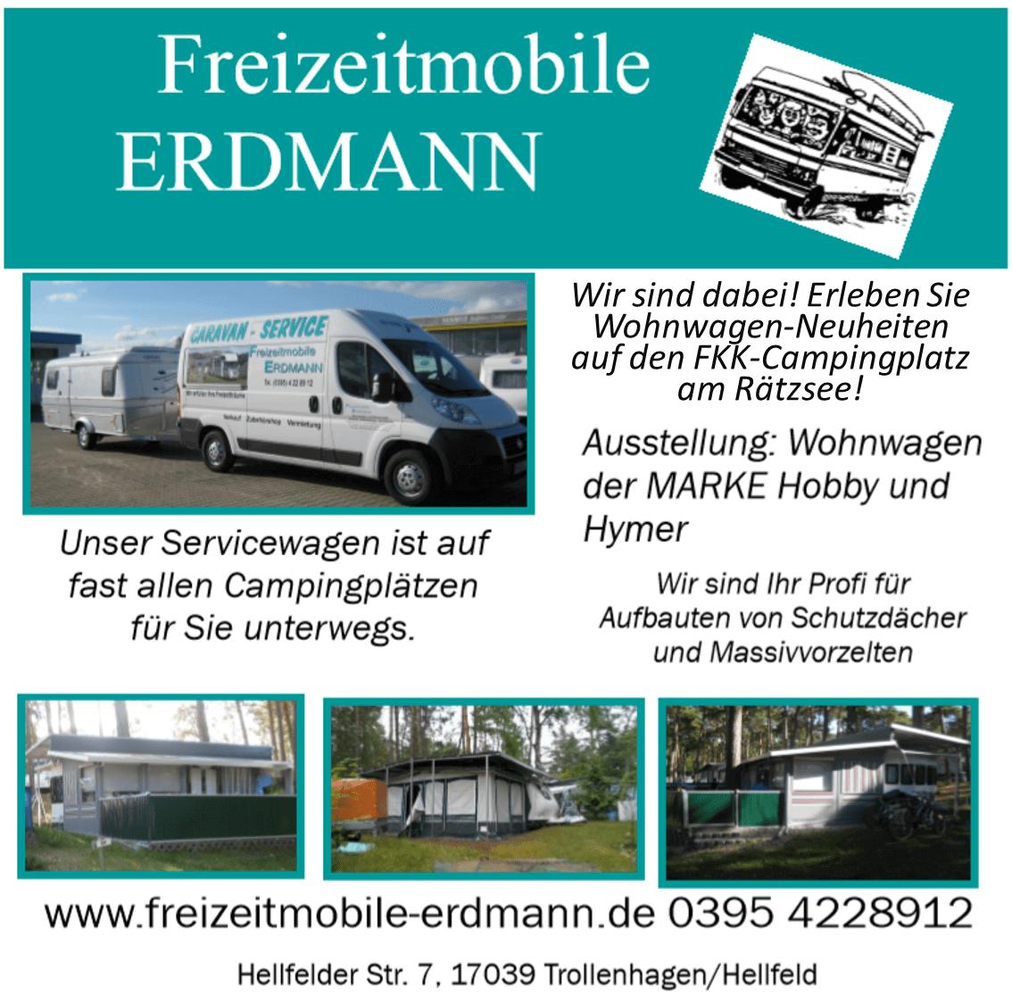 Verkauf und Vermietung von Reisemobilen und Wohnwagen / Caravan, sowie Werkstatt und Zubehörhandel in Hellfeld