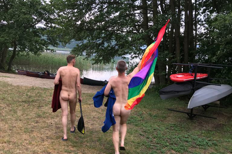 Gay Rainbow FKK Camping am Rätzsee