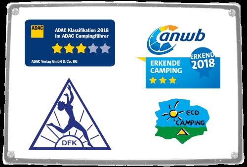 Wir wurden von ADAC und ANWD mit 3 Sternen 2018 bewertet
