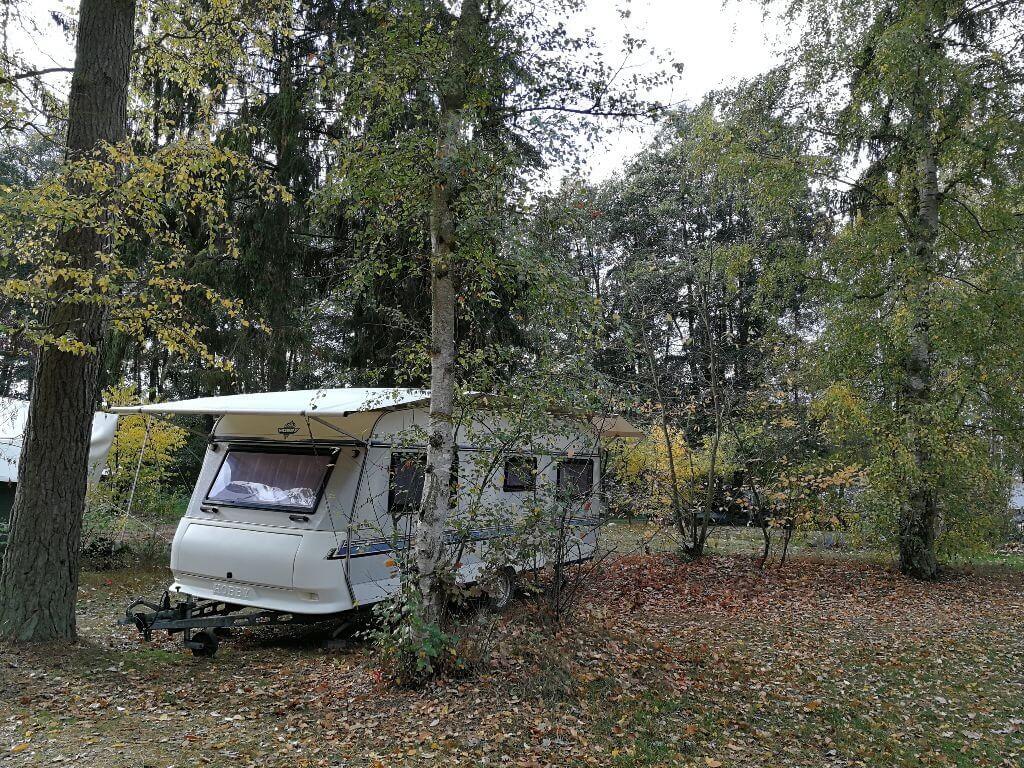 Stellplatz Hobby Wohnwagen