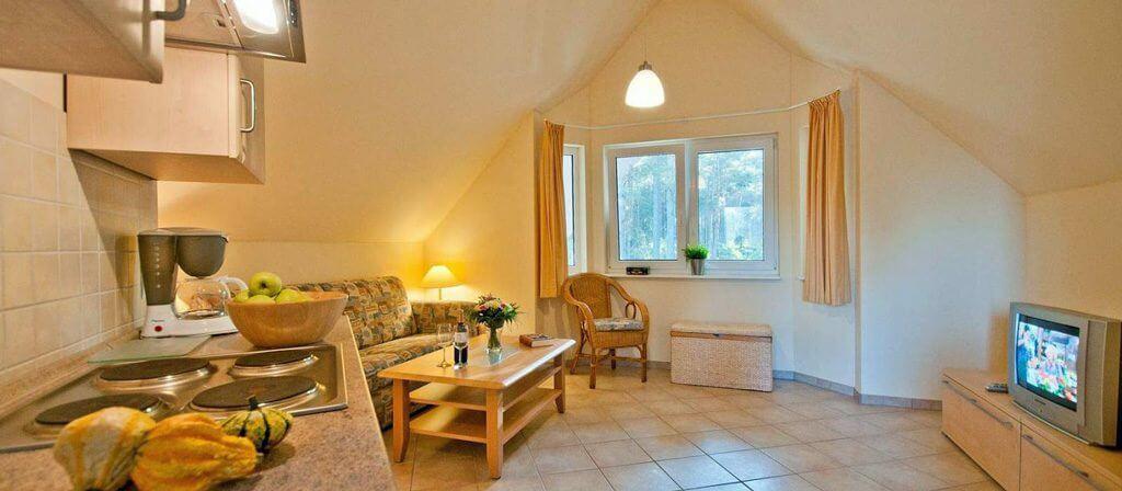 mietunterk nfte ferienwohnung campingzeit am r tzsee. Black Bedroom Furniture Sets. Home Design Ideas